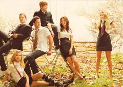 Chuck, Jenny, Dan, Nate, Blair e Serena