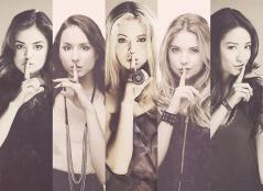 Aria, Spencer, Alison, Hanna, Emily